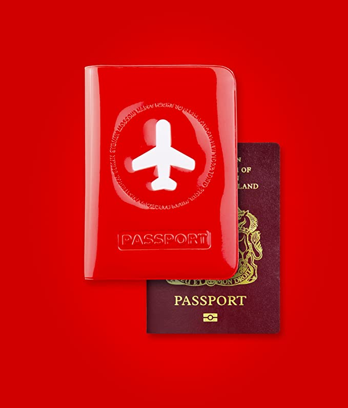 Alife design Prot/ège passeport bleu