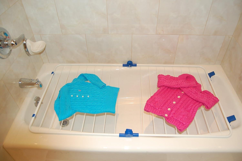 Amazon Com Better Houseware Bathtub Drying Rack 25 3 4 Inch By 26
