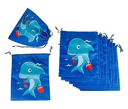 Amazon.com: Bolsas de cordón – Paquete de 12 Bolsa de Fiesta ...