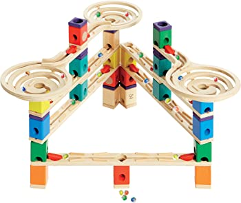 Hape Quadrilla Wooden Marble Run Construction