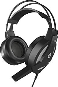 HP Wired Gaming PC Headset Stereo Sound HP H100 Headphone with Microphone for PC, Xbox, PS4, Nintendo Switch and Mobile Device