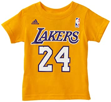 Outerstuff NBA Toddler Los Angeles Lakers Kobe Bryant Short Sleeve Name    Number Tee - R4A3St 2ded807b0