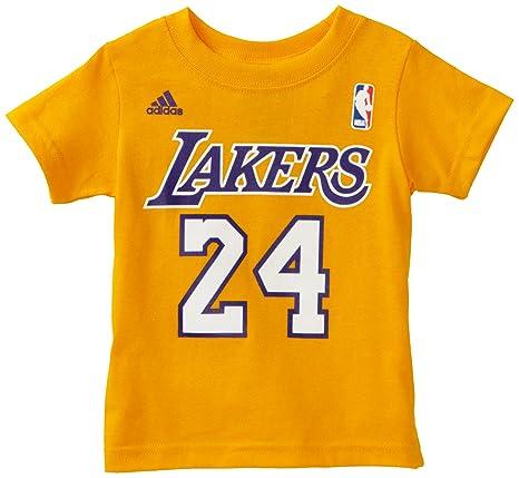 Amazon.com: NBA Los Angeles Lakers Kobe Bryant manga corta ...