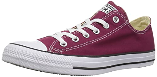 Converse Chuck Taylor All Star Sneakers Unisex Adulto Rosso Bordeaux 3...