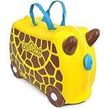 Trunki Valigia Cavalcabile Per Bambini: La Giraffa Garry (Giallo)