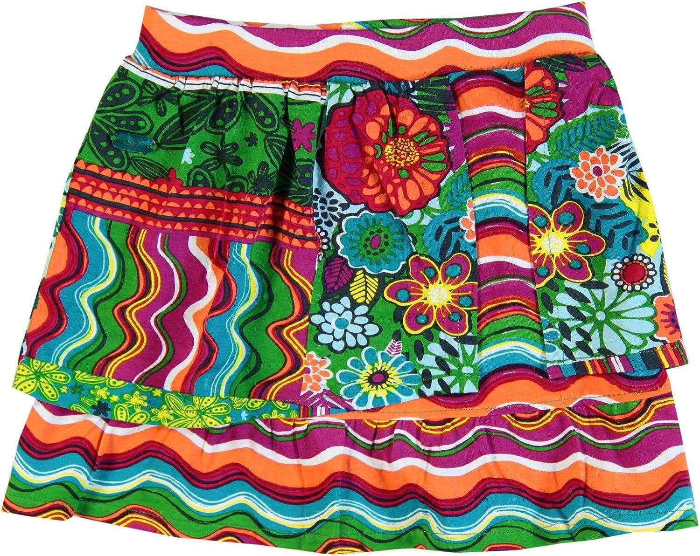 boboli Rock - Falda para niña, talla única (2), color estampado ...