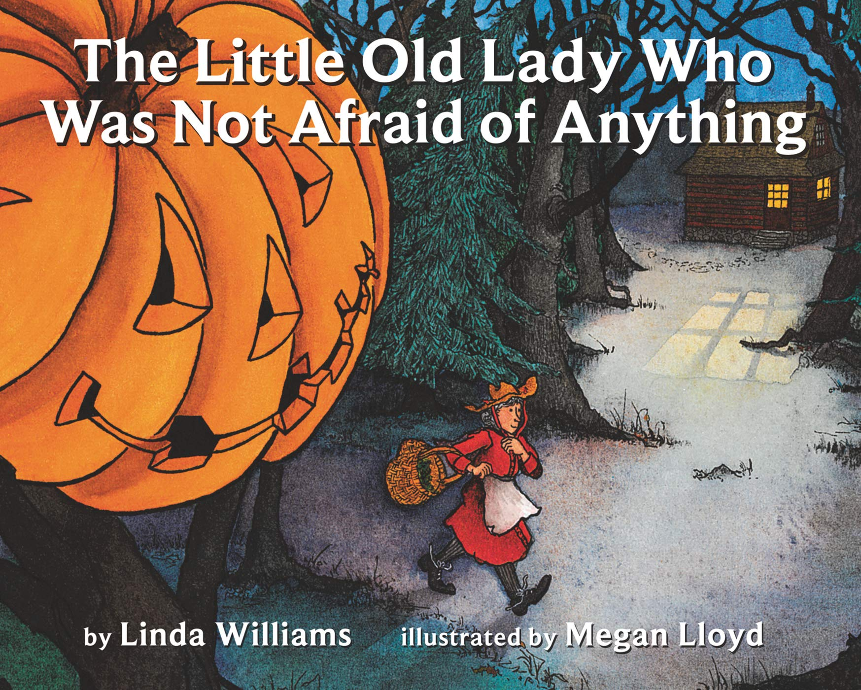 The Little Old Lady Who Was Not Afraid of Anything: Linda D. Williams,  Megan Lloyd: 9780064431835: Amazon.com: Books