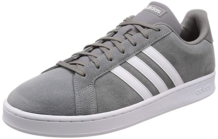 adidas Grand Court Herren Sneakers (Tennisschuhe) Grau