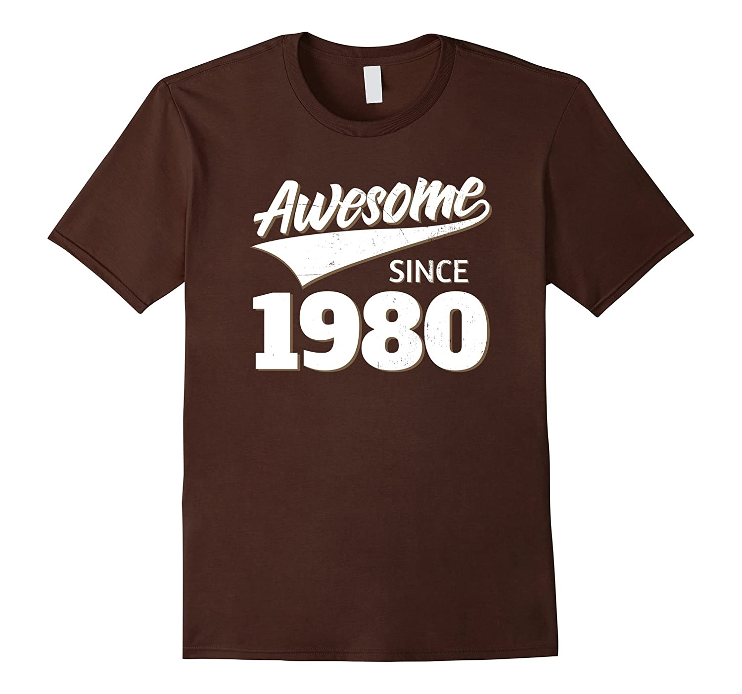 Awesome Since 1980 Birthday Gift Idea T Shirt-TH