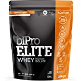 BiPro Elite 100% Whey Isolate Protein Powder, Unflavored, 2 Pound