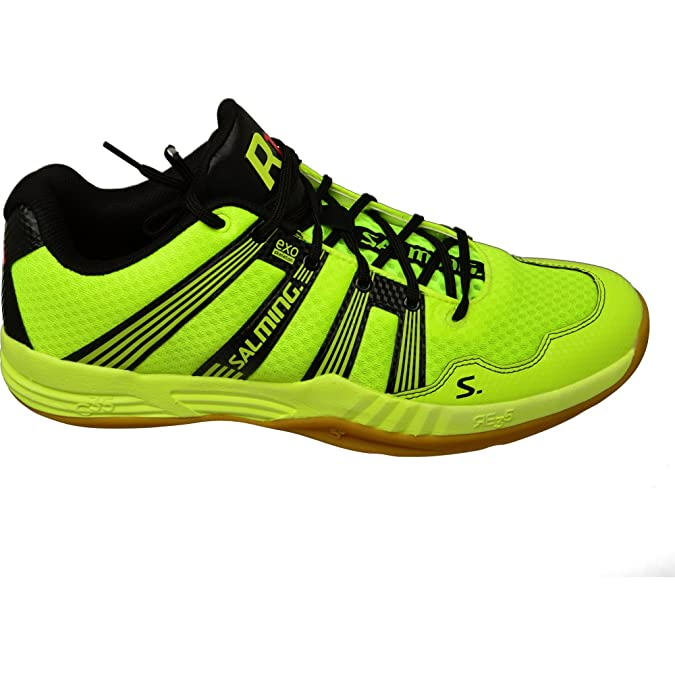 Salming Race R1 2.0 Mens Court Shoes, Color- Yellow, Size- 10.5 UK:  Amazon.co.uk: Shoes & Bags