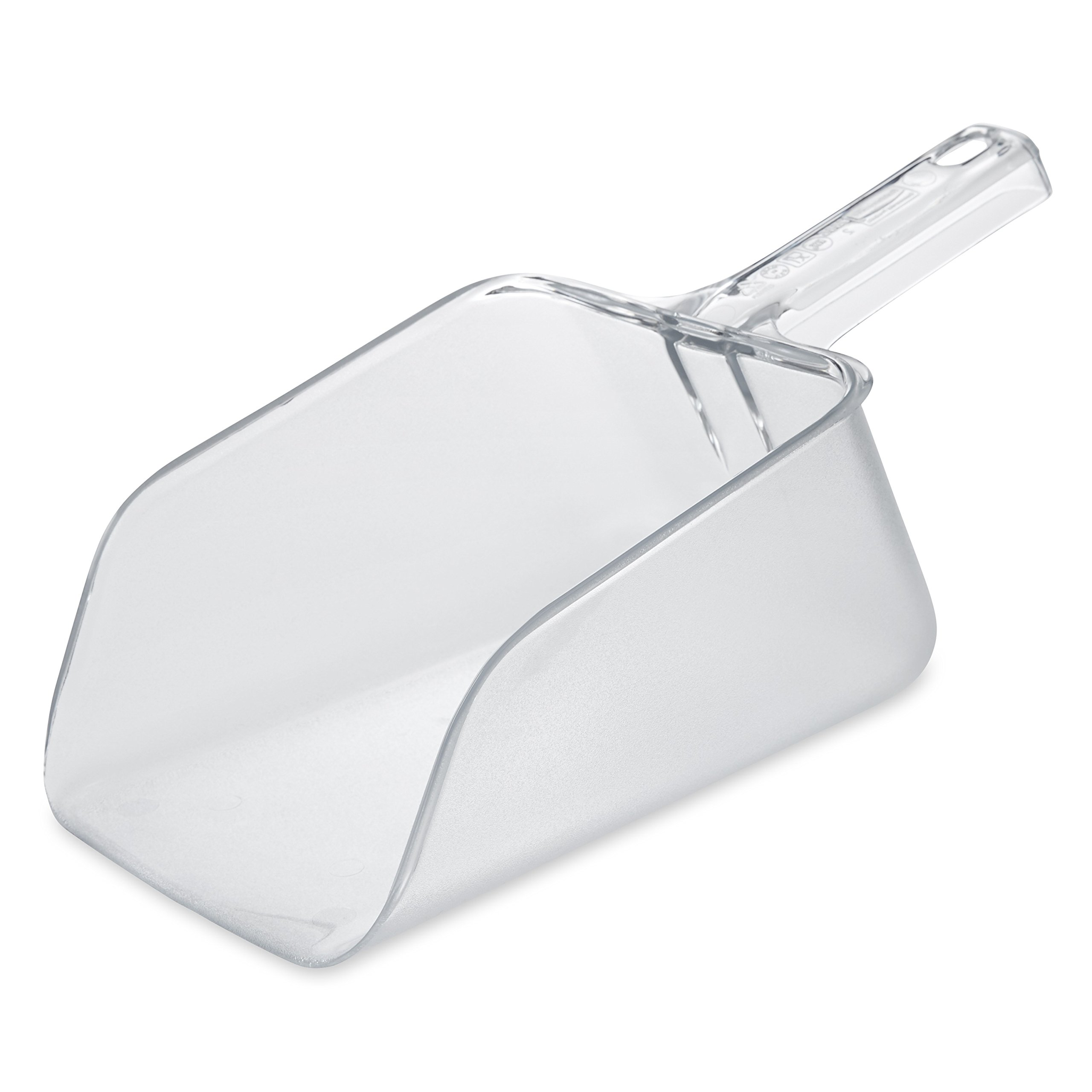 Rubbermaid Commercial FG288600CLR 64-Ounce Clear Bouncer Utility Scoop by Rubbermaid Commercial Products