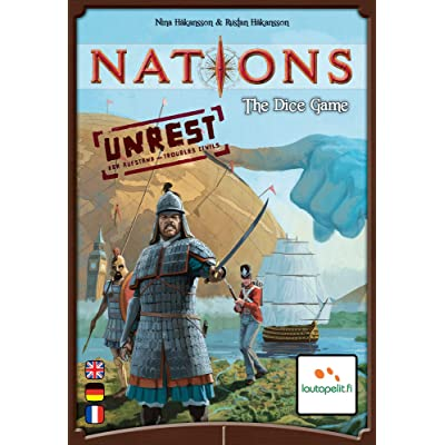 Nations The Dice Game Unrest Expansion: Toys & Games