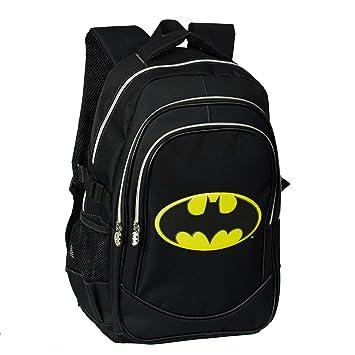 Karactermania Batman Batsignal Mochila Tipo Casual, 44 cm, 24,5 litros, Negro: Amazon.es: Equipaje