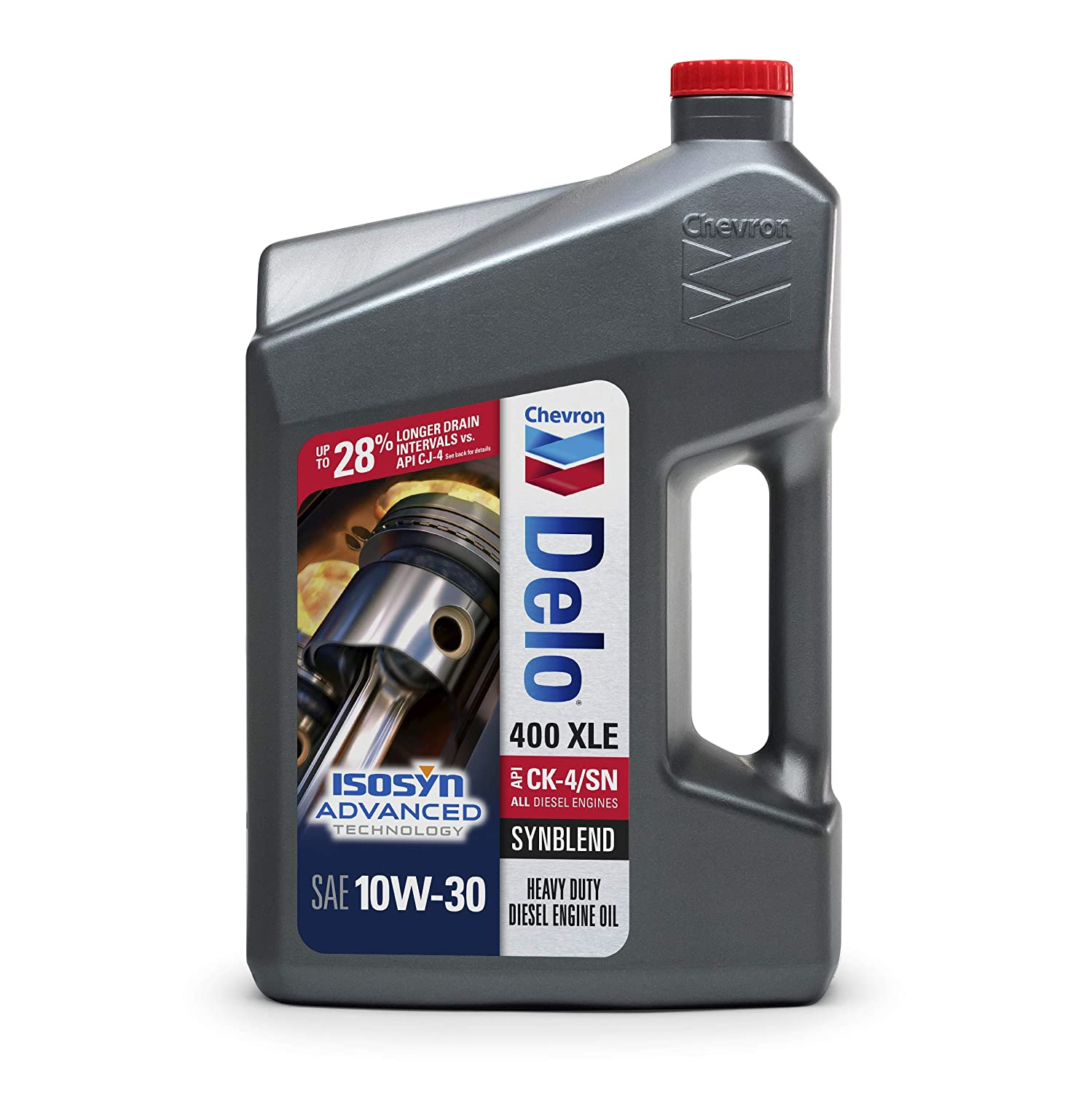 Amazon.com: Delo 400 XLE 10W-30 Synblend Motor Oil - 1 Gallon, (Pack of 3): Automotive