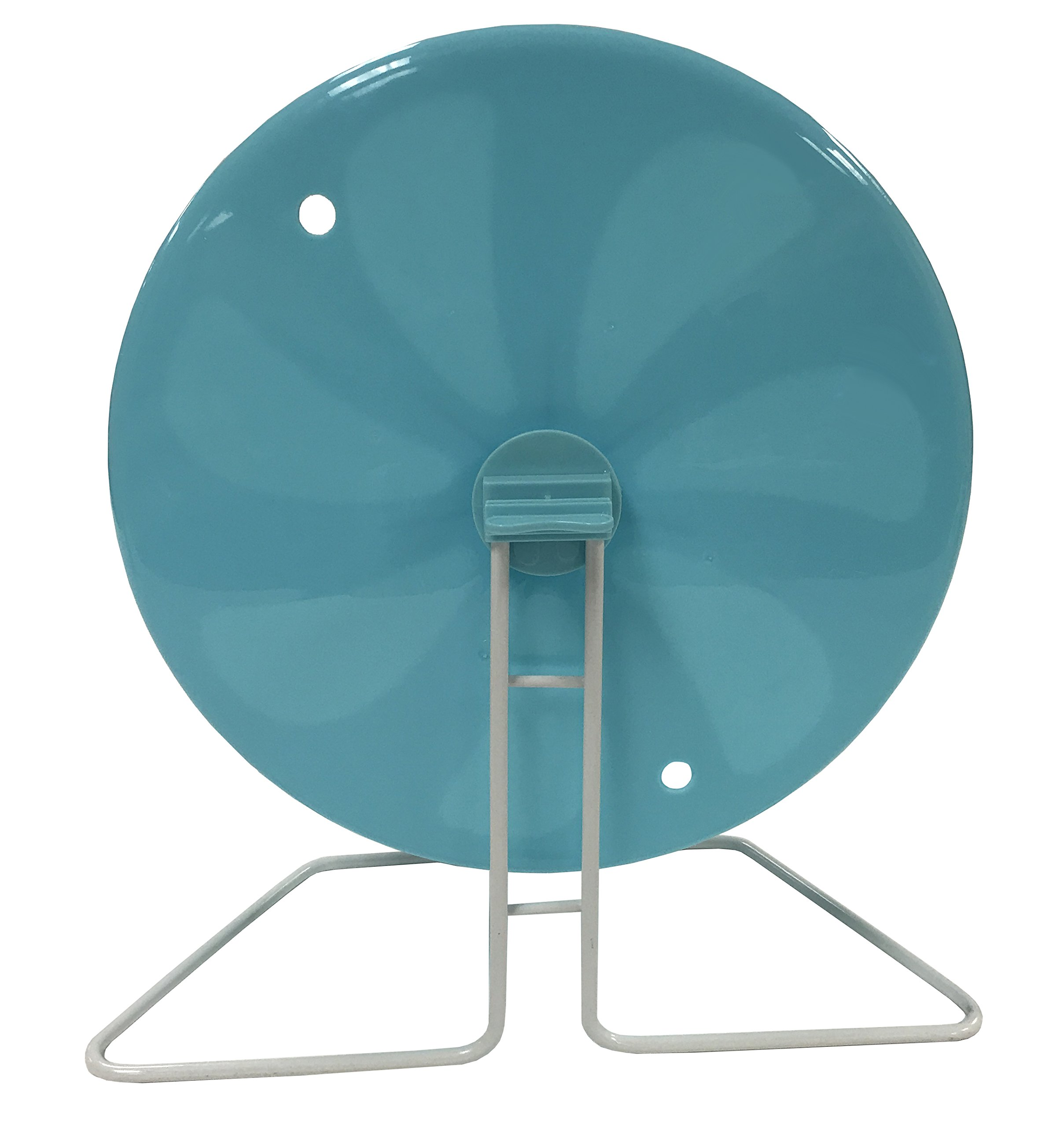 Penn-Plax 8'' Exercise Wheel - Perfect For Rats, Hamsters, Mice, Gerbils and Other Small Animals by Penn Plax (Image #2)