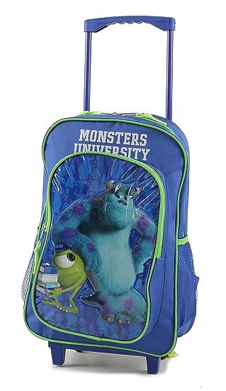 Childrens Large Premium Disney's Monsters University Trolley Bag ...