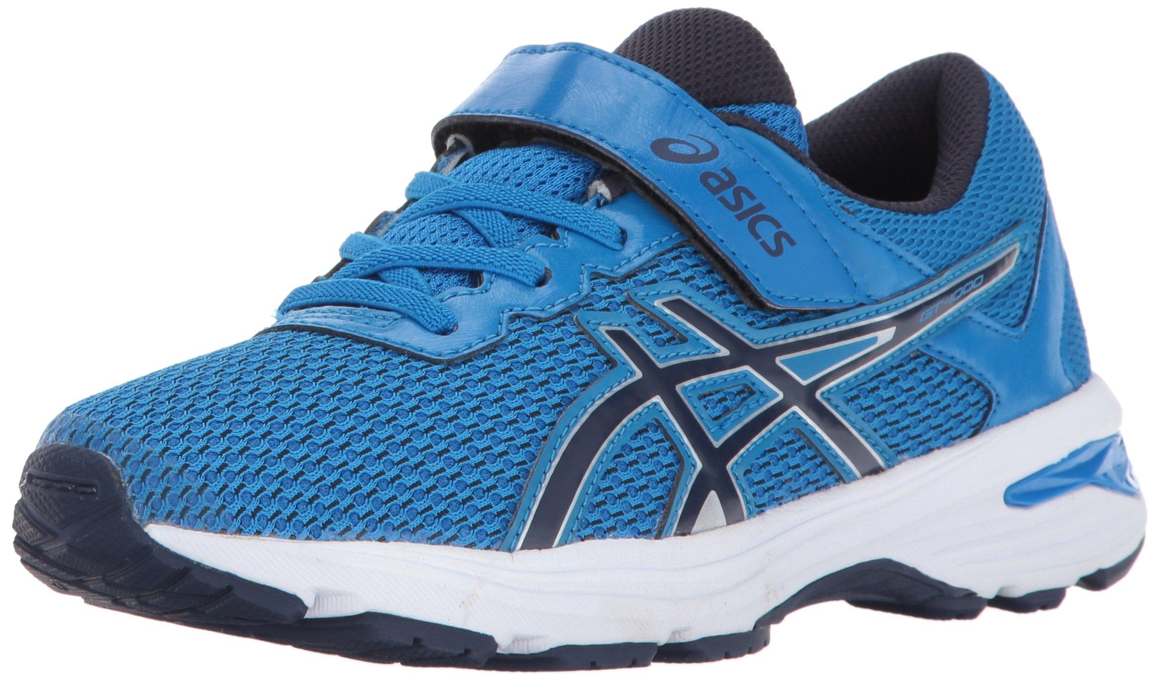 ASICS Unisex-Kids GT-1000 6 PS Running Shoe, Directoire Blue/Peacoat/Silver, 1.5 Medium US Little Kid