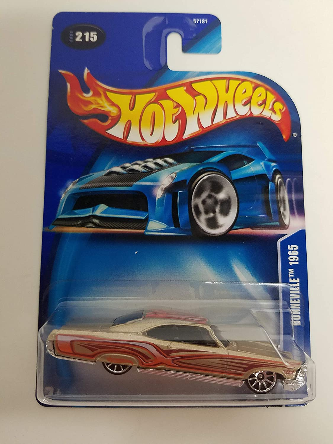 Bonneville 1965 2003 Hot Wheels diecast car No. 215