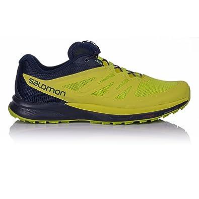 Salomon Sense Pro 2 Trail Running Shoe - Men's Navy Blazer/Lime Punch/Lime