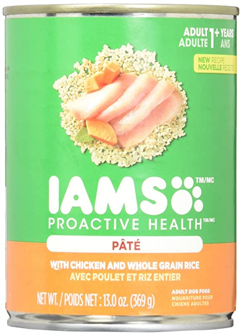Iams proactive health dog food classic pate ground savory dinner iams proactive health dog food classic pate ground savory dinner with chicken rice forumfinder Image collections