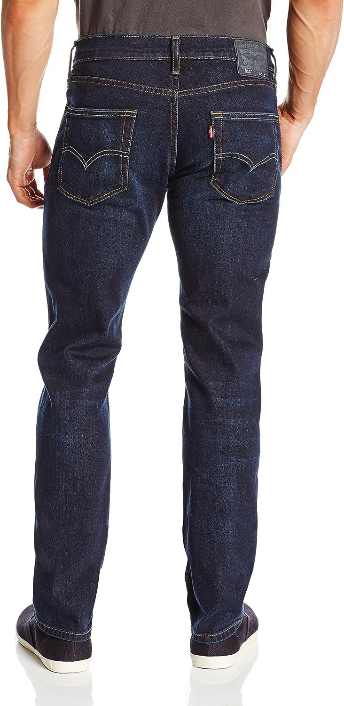 Levis - Jean - Homme - 511 Slim Fit 0751 Light Poly Stonewashed - Bleu Patiné Séquoia - Élastique