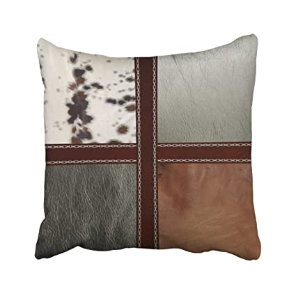 Amazon Emvency Square 40x40 Inches Decorative Pillowcases Style Fascinating Western Style Decorative Pillows