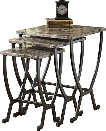 Hillsdale Monaco Metal Nesting Table