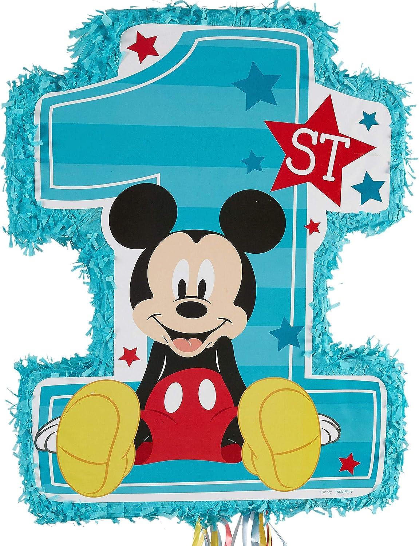 Amscan Mickey On The Go Pull String Pinata Ya Otta Pinata 1