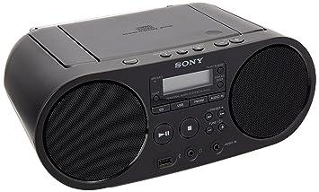 32d6c942c14a10 Sony ZS-PS50 Numérique 4W Noir radio CD - Radios CD (Numérique, AM ...