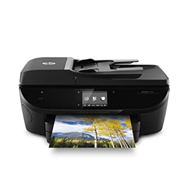 HP ENVY 7640 Wireless All-in-One Photo Printer with Mobile Printing, HP Instant Ink & Amazon Dash Replenishment ready (E4W43A)
