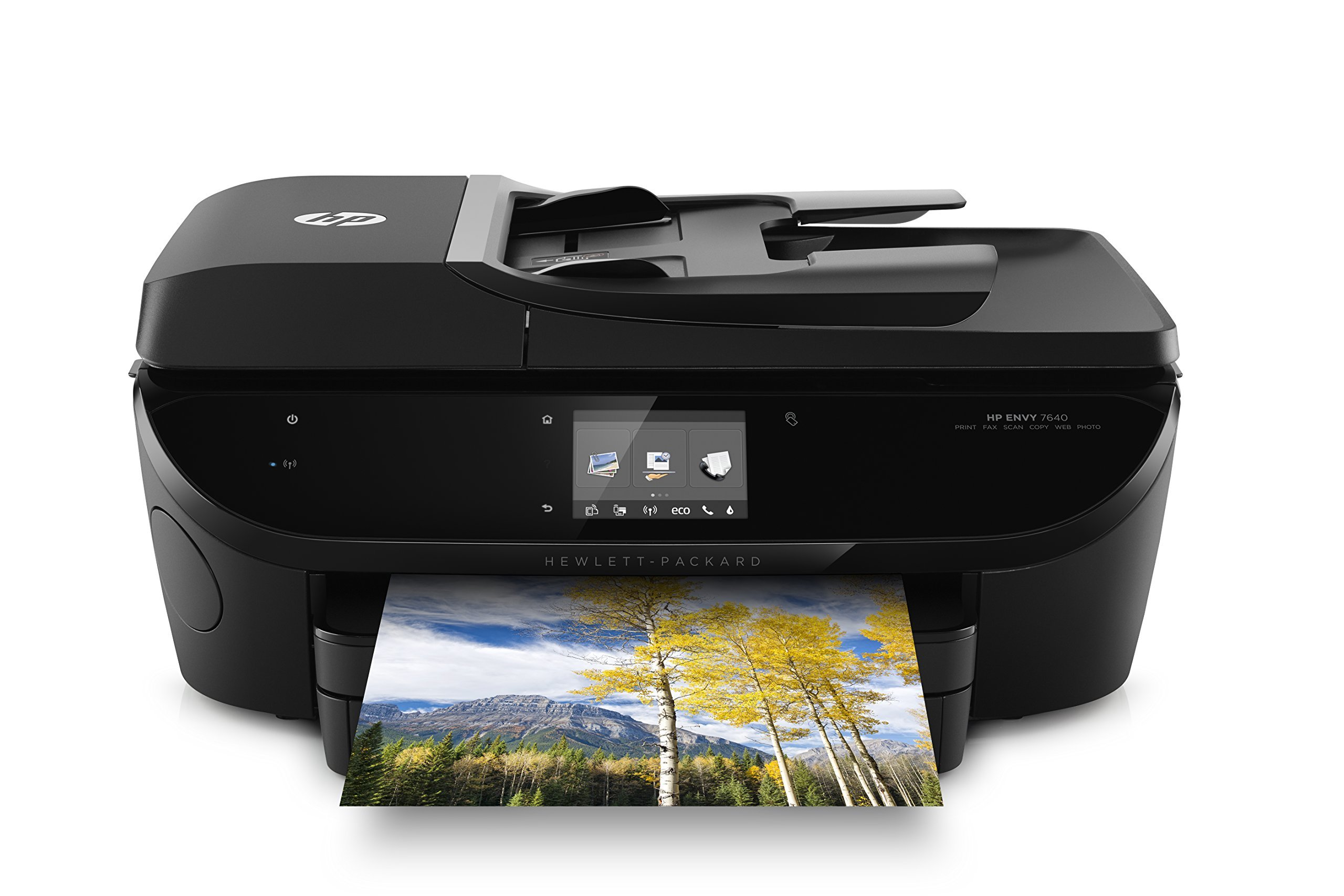 HP Envy 7640 Wireless All-in-One Photo Printer with Mobile Printing, Instant Ink ready (E4W43A) by HP (Image #1)