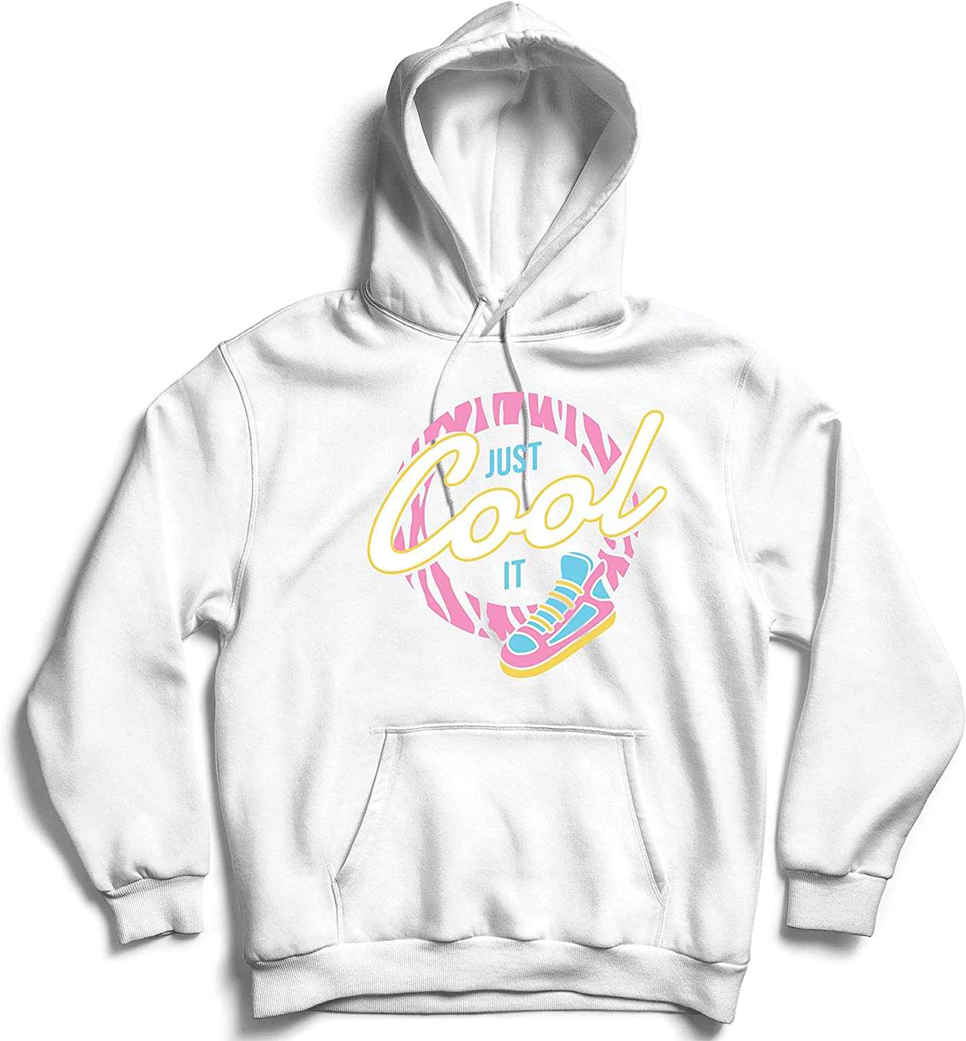 lepni.me Unisex Hoodie Retro Just Cool it Back to 80s 90s 00s Pop Culture