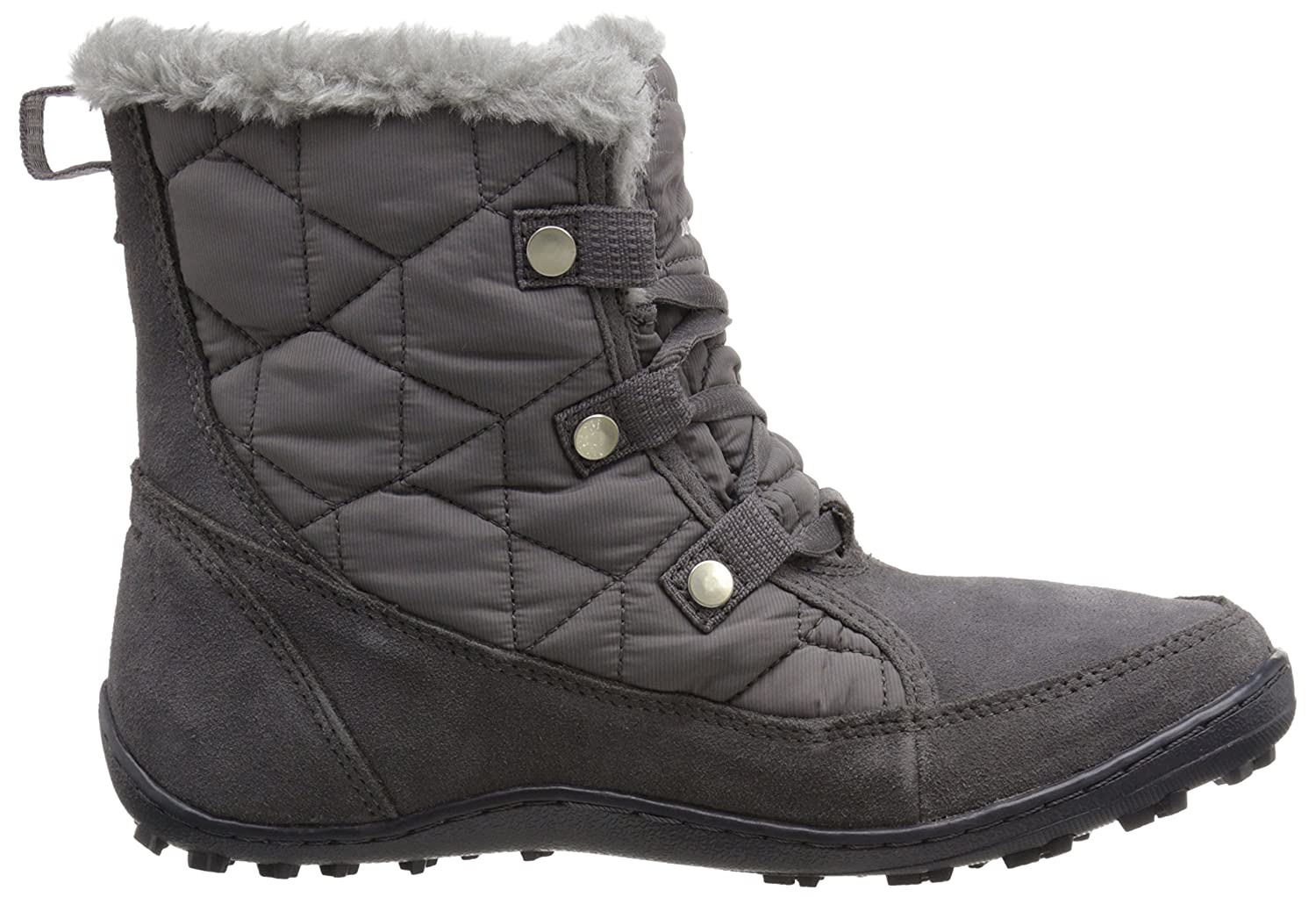 Columbia Women's Minx Shorty Alta Omni-Heat Snow Boot B00Q7R1GYY 7.5 B(M) US|Shale, Dark Raspberry