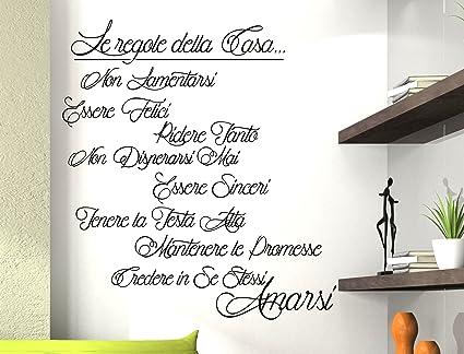Walplus adesivi da parete regole della casa italiano for Arredamento cucina ristorante