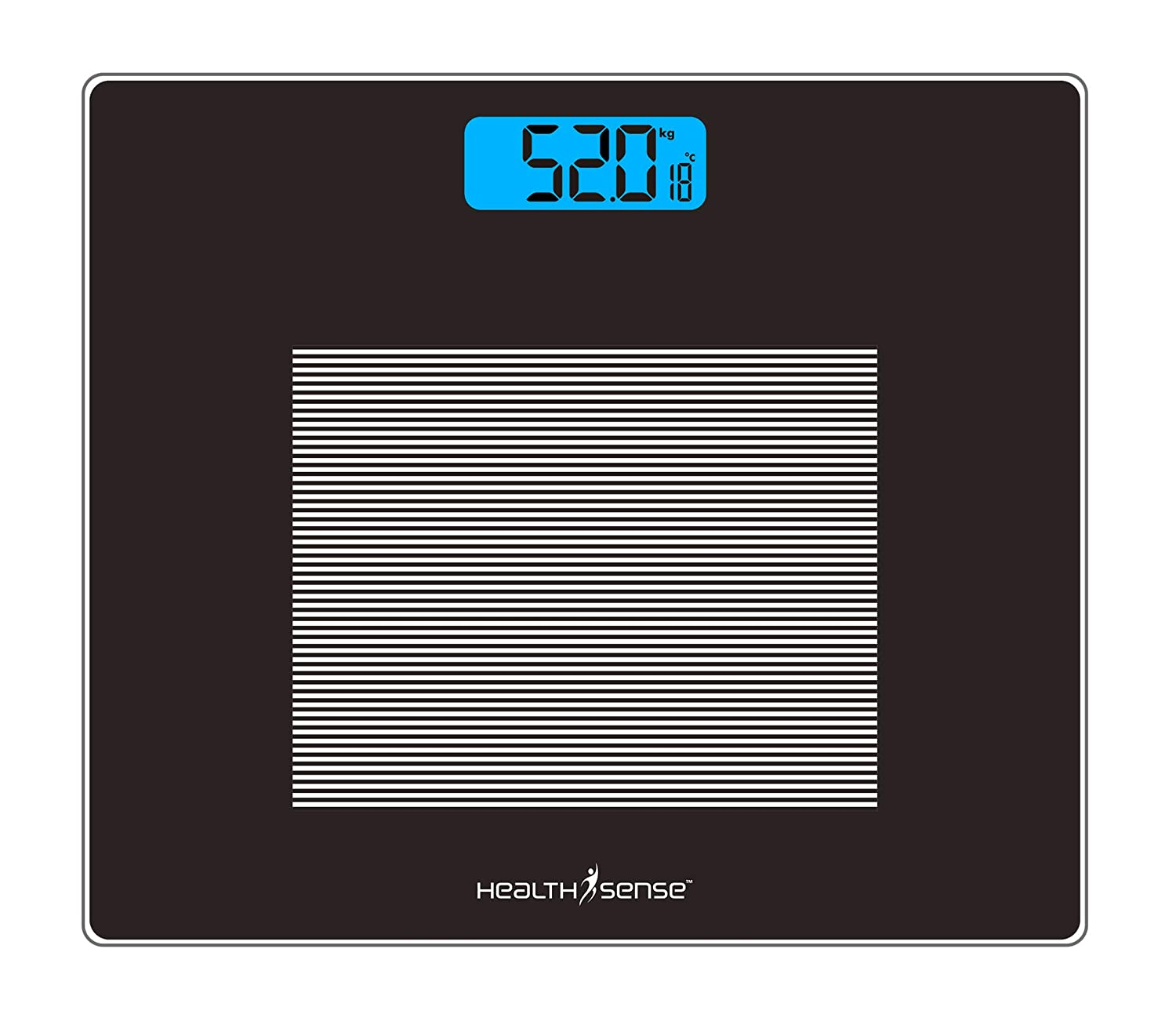 Healthsense Dura-Glass Digital Personal Body Weighing Scale