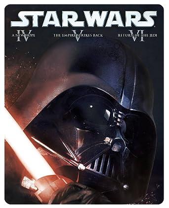 Star Wars: Original Trilogy [Reino Unido] [Blu-ray]: Amazon.es: Cine y Series TV
