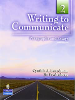 com writing to communicate essays and the short writing to communicate 2 paragraphs and essays 3rd edition