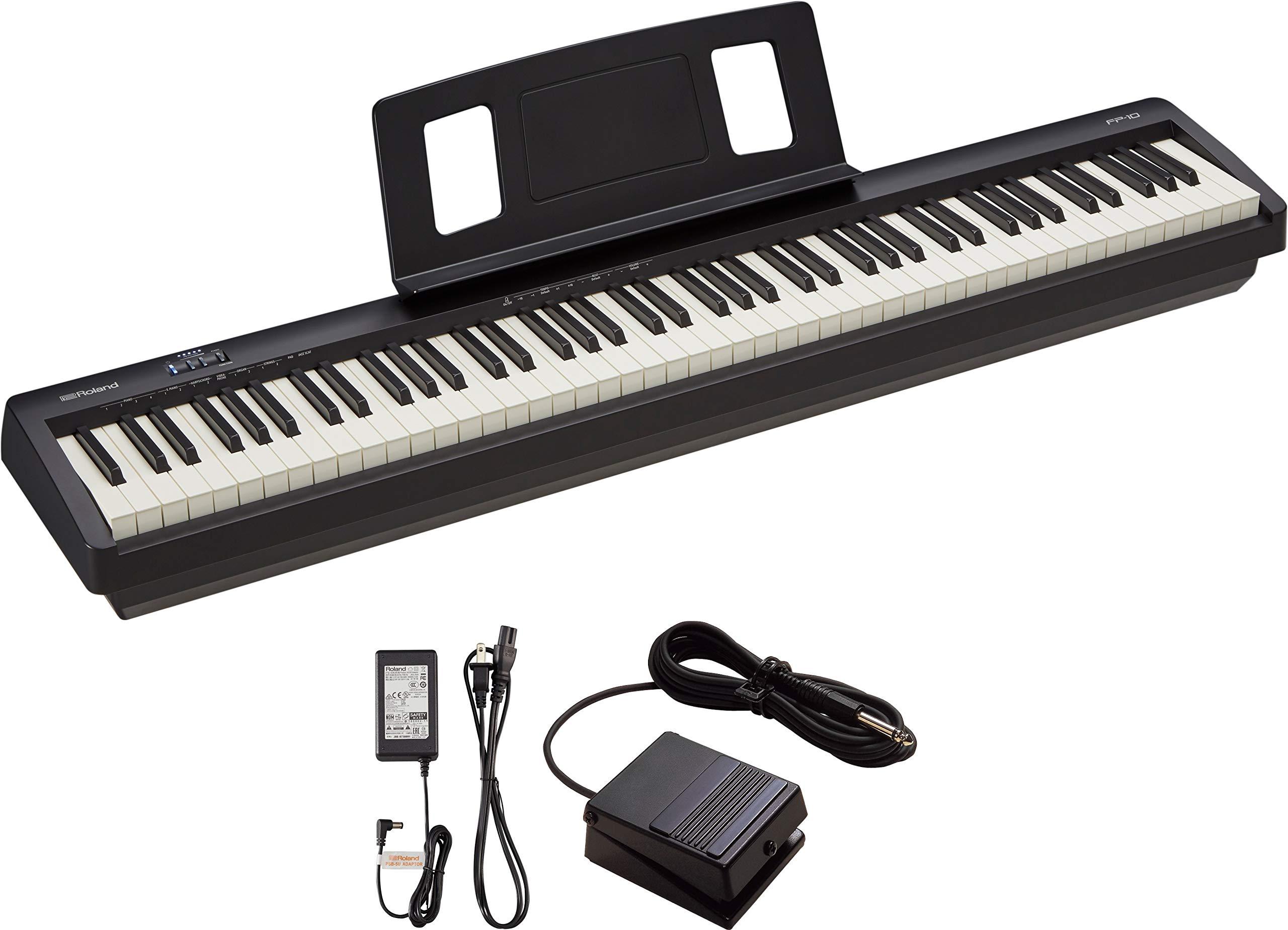 Roland 88-Key Entry-Level Digital Piano, Black (FP-10-BK) by Roland