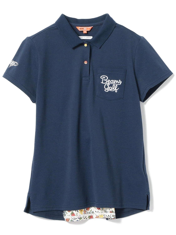 (ビームスゴルフ)BEAMS GOLF/ポロシャツ ORANGE LABEL/バッグ リバティ ポロシャツ レディース S ネイビー B07QK3LT4J