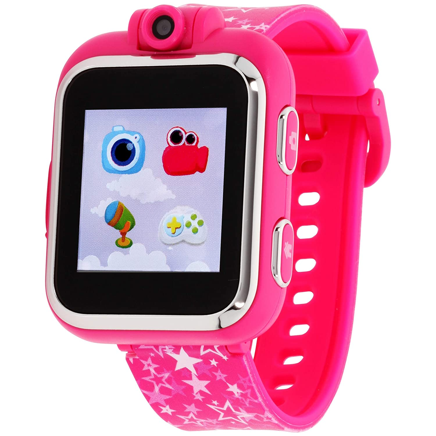 Amazon.com: iTouch Playzoom Kids Smart Watch Fuschia Printed ...