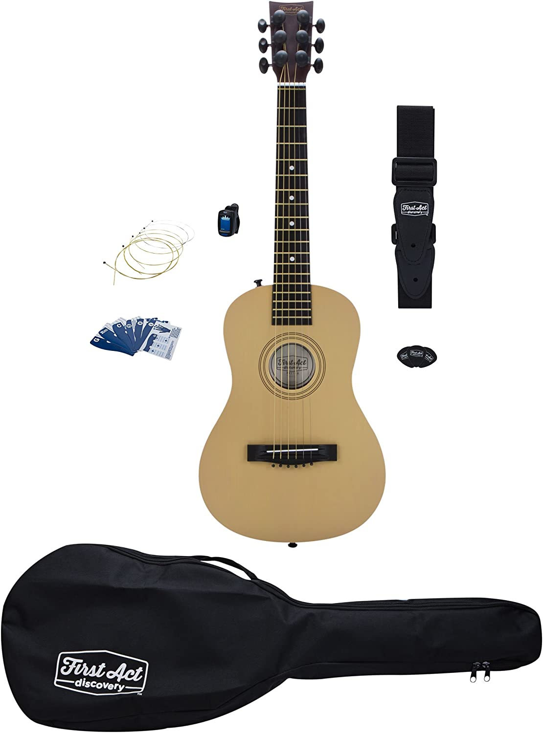 Top 10 Best First Act Acoustic & Electric Guitar Reviews in 2020 10