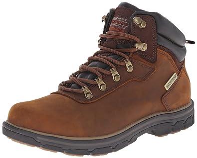 Segment Gundy, Boots homme - Noir (Blk), 42 EUSkechers