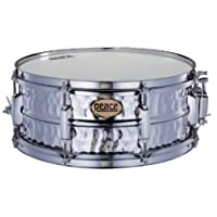 Peace Sd-316 6.5x14 Hand Hammered Series Steel Snare Drum