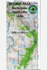 Bishop Pass Trail Map (CA) (Tom Harrison Maps) Map