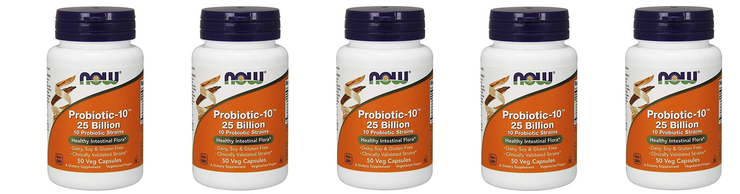 NOW Probiotic-10 25 Billion 250