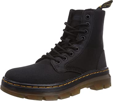 6015c5123 Dr. Martens Men's Combs Nylon Combat Boot