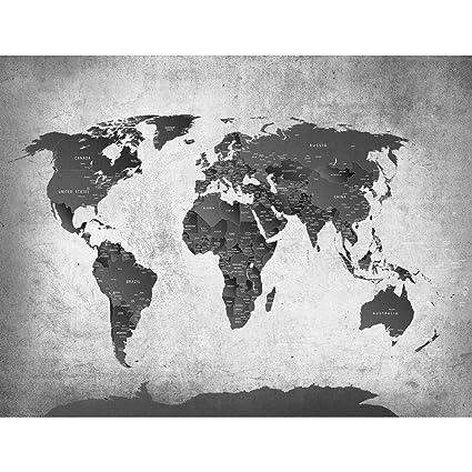 Papel Pintado Fotográfico Mapa del mundo 352 x 250 cm Tipo Fleece no-trenzado Salón