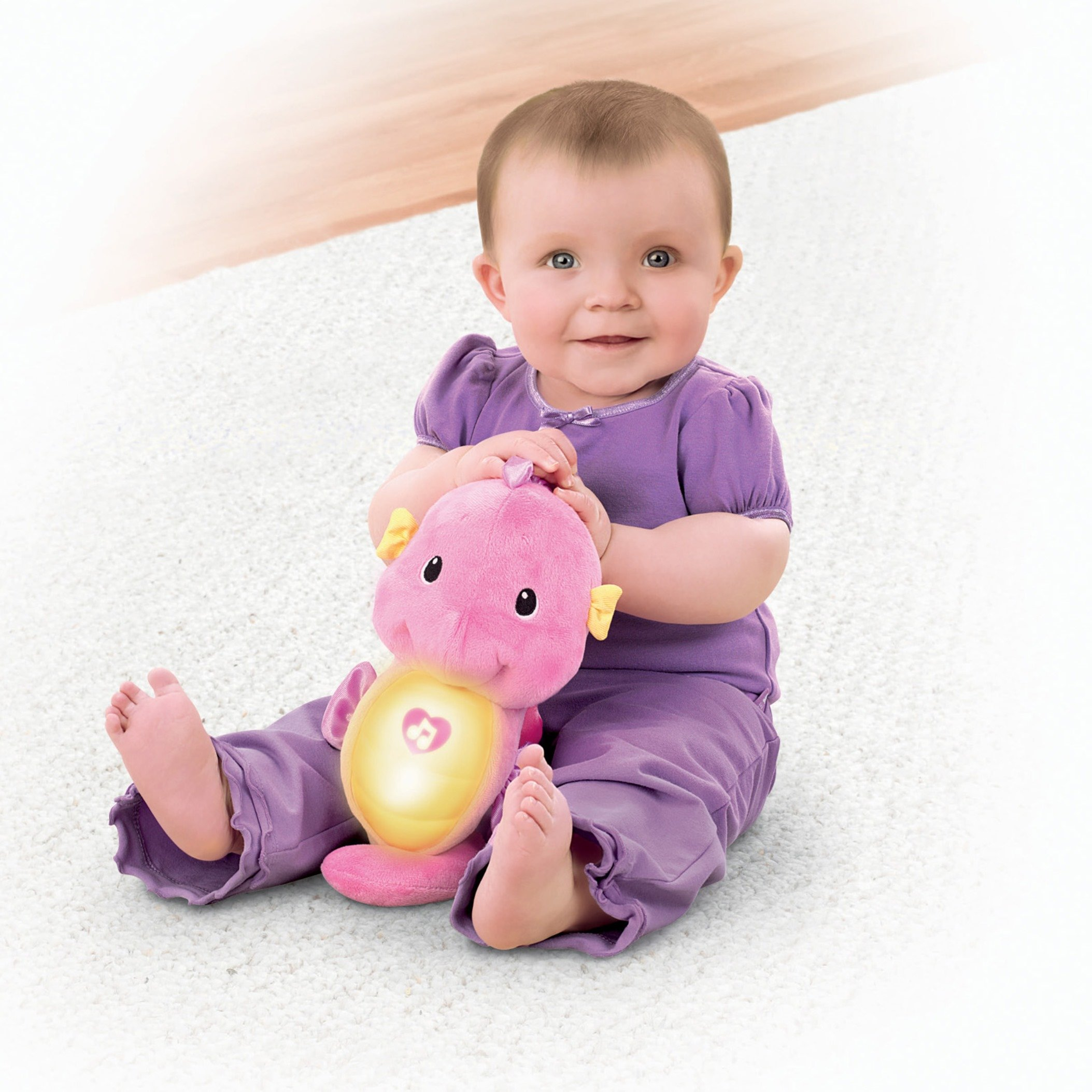 Fisher-Price Soothe & Glow Seahorse, Pink by Fisher-Price (Image #4)