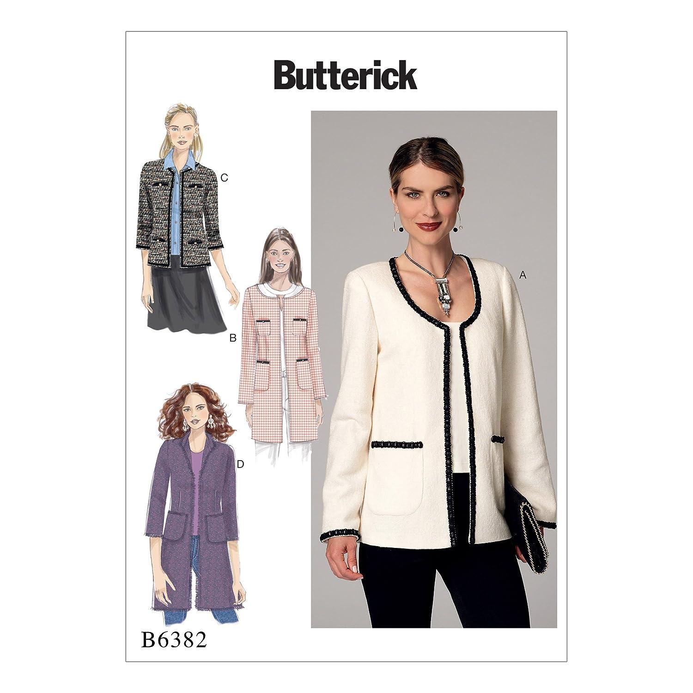 Butterick Patterns MCCALL \'s Patterns Butterick 6382 A5 - Patrones ...